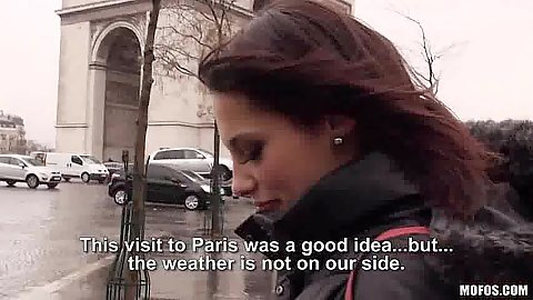 Nikita Bellucci picked up in public on the streets of France