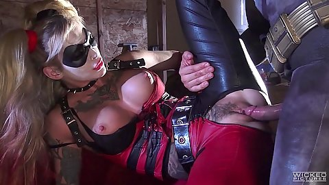 Batman and superman parody Kleio Valentien