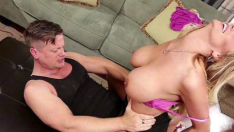 Milf Stormy Daniels is riding dick in obsessed fashion