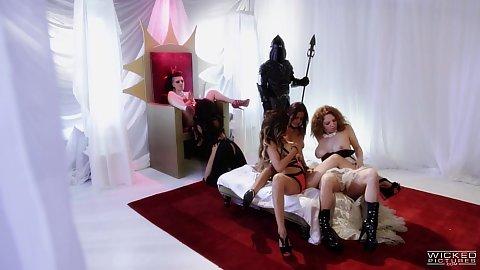 Bras and panties skinny parody Asa Akira and Rachael Madori