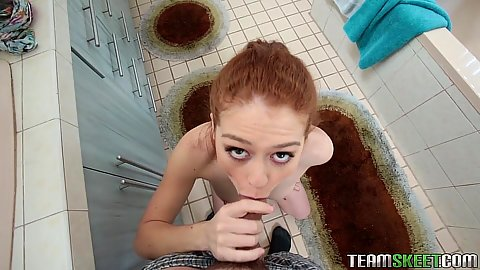 Petite pov blowjob teen suck Alice Green