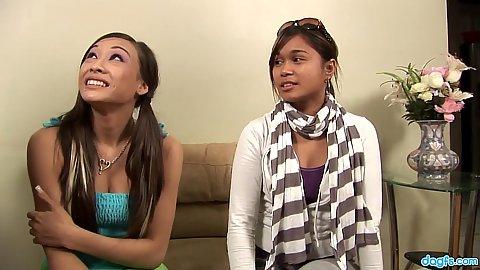 Two asian petite skanks Ariel Rose