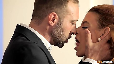 Kissing and fellatio sucking yarisa Duran scene