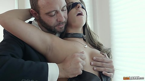 Cock sucking discipline slut Amirah Adara and pov