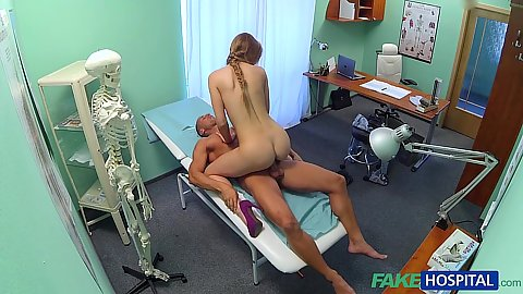 Intense cheating nurse fucks male patient and caught on hidden camera