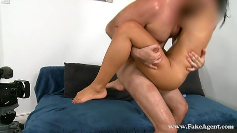 Audition petite german babe wanting to be a glamour model fucked
