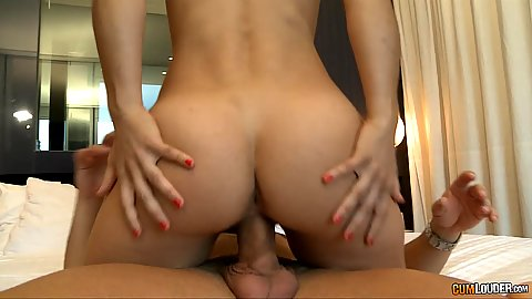 Daring cowgirl petite juicy ass Julia Roca sitting