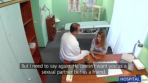 Doctor having a chat with housewife Ani cheating on hidden camera
