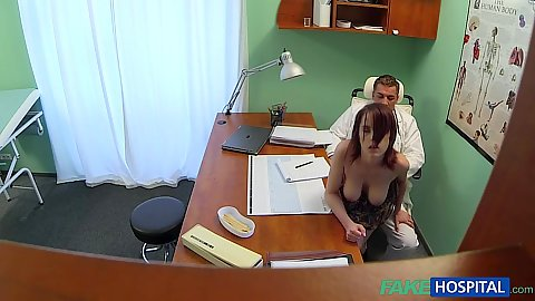 Pervert doctor having sex with his patient and viewed on hidden cam