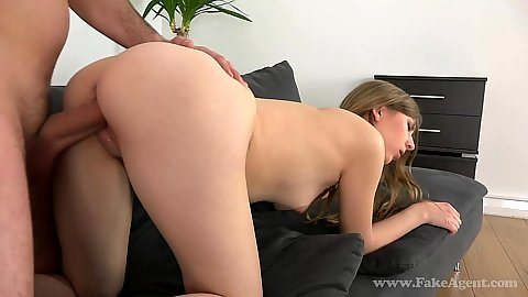 18 year old casting fuck with young Daisy trying to make money
