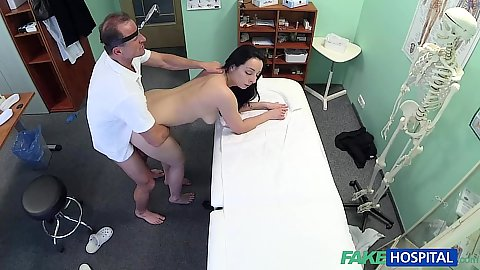 Girl came in for a physical but doctor fucked hard the right way