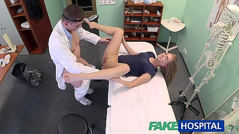 Innocent girl visits the doctor Violette Marketa only to find that he is aroused