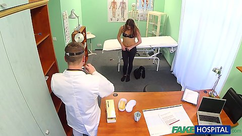 Fabulous doctor visit turning into patient fuck
