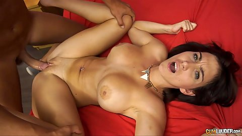 Front penetration with nice busty body chick Valeria Blue