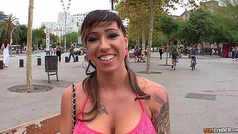 Shaking boobies awesome Suhaila Hard in public