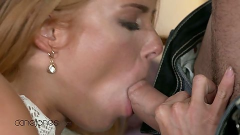Wild dick sucking Crissy Fox having her time on bed