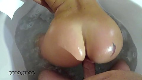 Pov bathroom tub sex with wet and spicy blonde Lex