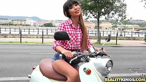 Ride me to please me with Mona Kim