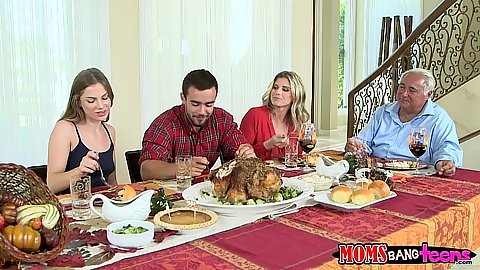 Large feast group fucking with mom and teen Sydney Cole and Cody Lewis