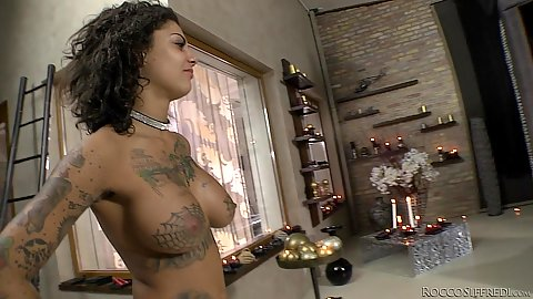 Fresh horny slut Bonnie Rotten in her behind the scenes special