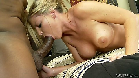 Kinky cock sucking deep throat milf Brianna Brooks