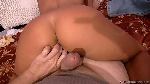 Pov fingering and crack fuck teasing with busty mom