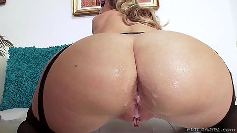Creamed ass Trisha Parks  getting spunked