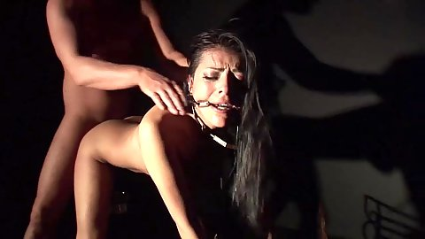 Fetish with with slave puppet Yoha Galvez
