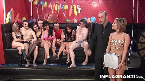 Sex party swingers orgy about to being