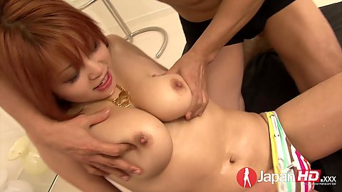 Squirting and leaking some pussy juices with horny asian Sara