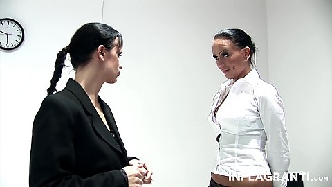 Two lesbians and some dominatrix with Maria Mia and Kira