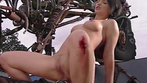Rough sex analized whore Maria Mia