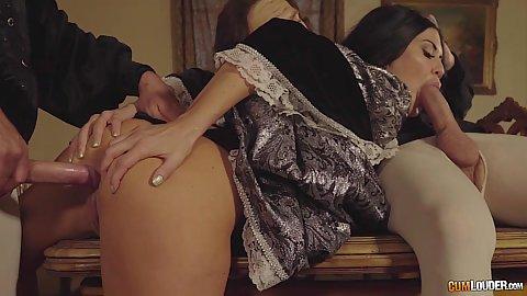 Shakespeare parody grou sex with Jasmine Jae