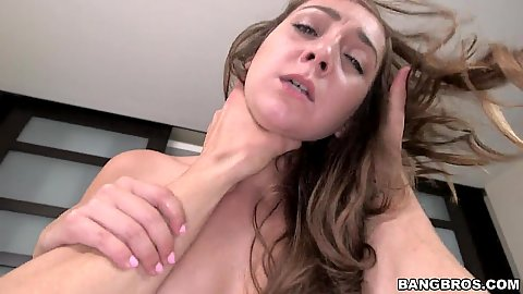 Early morning fucking with dreamy brunette Remy LaCroix