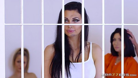 Aletta Ocean is a horny female prisoner