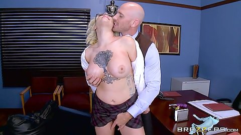 Sweetheart deans office slut sex with Harlow Harrison