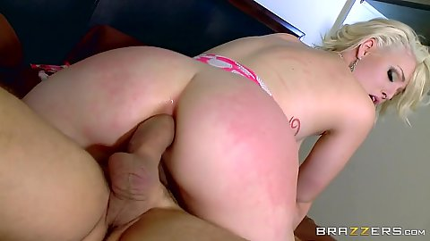 Anal dick grinding with frontal penetration from Jenna Ivory
