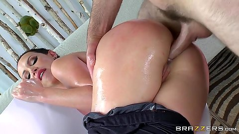 Lusty anal thrusting from behind with nice butt Nikki Benz