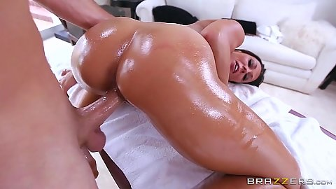 Dirty massage nice ass Rachel Starr fucked from behind