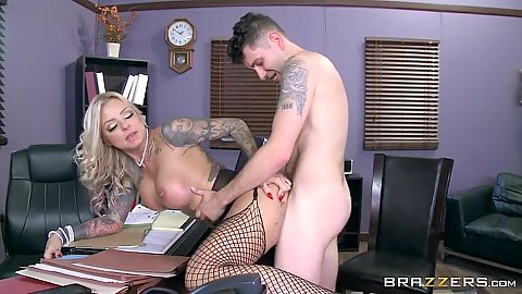 Head mistress milf Britney Shannon is a naughty school head