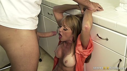 Milf Shayla Leveaux with dick in her mouth