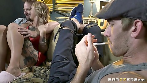 Having a party with Kleio Valentien in full all day