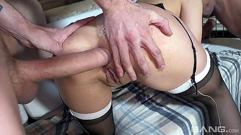 Big dick doggy entry with ass fucked Henessy