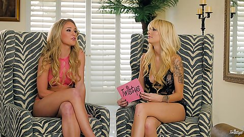 Interview with babes Kali Rose and her friend in bts