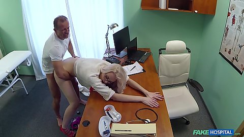 Bent over and medically fucked from behind Lexi Lou