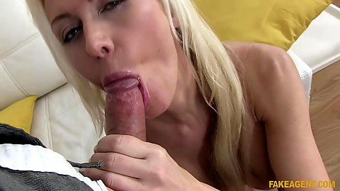 Euro oral sex with audition first time model Anastasia