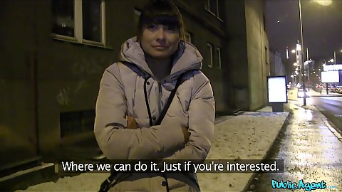 Hot Czech girl Tera Joy picked up on street at night