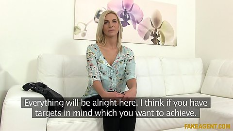 Astonishing interview with Bianca at the office