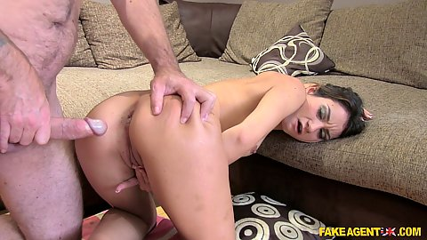 Valentina is an anal acrobat during audition