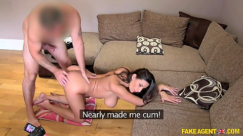 Doggy style entering a romanian girl Jane and leaving a creampie in her cunt